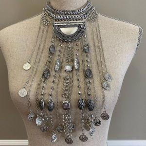 Boho boutique necklace